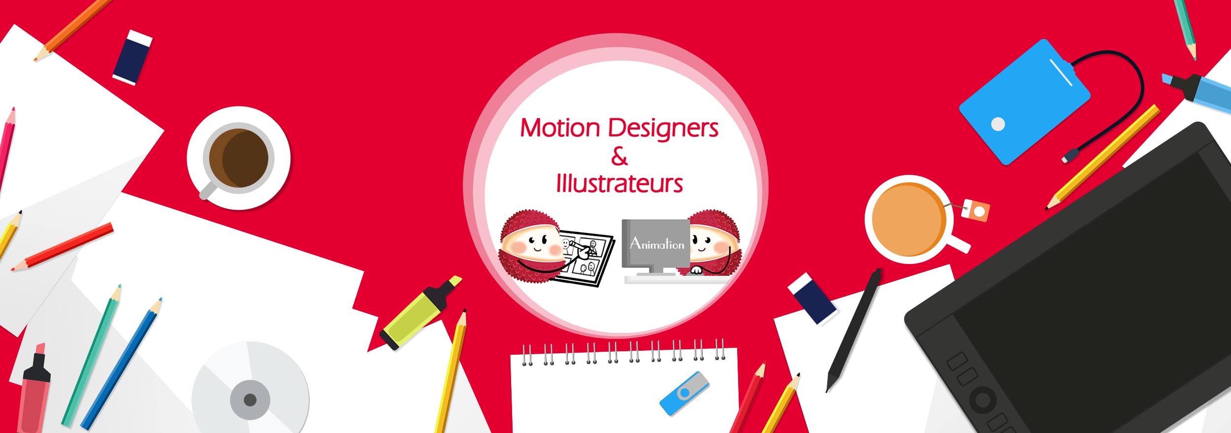 Motion designers et illustrateurs
