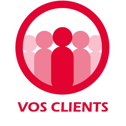 sujet vos clients